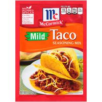 McCormick® Mild Taco Seasoning Mix