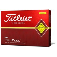 Titleist 2019 TruFeel Golf Balls, Yellow, 12 Pack