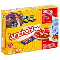Lunchables Pepperoni Pizza Convenience Meal