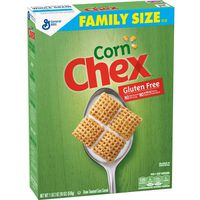 Chex Cereal, Gluten Free, Corn, Family Size