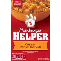 Hamburger Helper Cheesy Ranch Burger Hamburger Helper 5.9 Oz