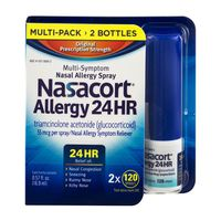 Nasacort Allergy 24 HR Nasal Allergy Spray - 2 PK
