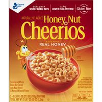 General Mills Honey Nut Cheerios, 2 x 27.5 oz