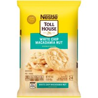 NESTLE TOLL HOUSE White Chip Macadamia Nut Cookie Dough 16 oz. Pack