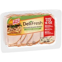 Oscar Mayer Deli Fresh Cracked Black Pepper Turkey Breast, 16 oz Package