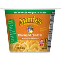 Annie's Homegrown Macaroni & Cheese, Real Aged Cheddar