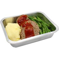 Central Market Meatloaf With Mashed Potatoes Dinner for One