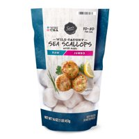 Sam's Choice Wild Caught Sea Scallops, 16 oz