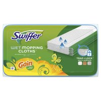 Swiffer Sweeper Wet Mopping Cloth Multi Surface Refills, Gain Scent, 24 count