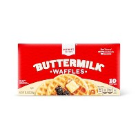 Buttermilk Frozen Waffles - 10ct - Market Pantry™