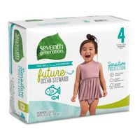 Seventh Generation Diapers, Size 4 (20-32 lbs)