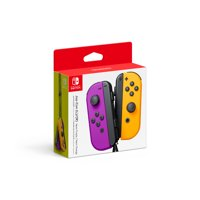 Nintendo Switch Joy-Con Pair, Neon Purple and Neon Orange