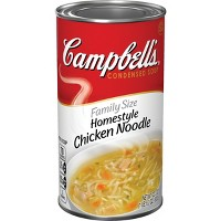 Campbell's Condensed Family Size Homestyle Chicken Noodle Soup 22.2oz