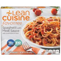 LEAN CUISINE FAVORITES Spaghetti with Meat Sauce 11.5 oz. Box