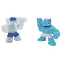 Heroes of Goo Jit Zu Dino Power - 2 Action Figures - Volcanic Rumble (Styles May Vary)