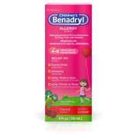 Benadryl Children's Children's Allergy Liquid