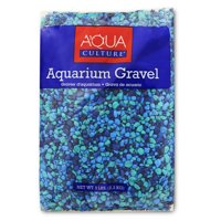 Aqua Culture Aquarium Gravel, Blue, 5-Pound