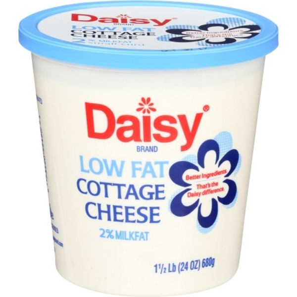 Daisy Cottage Cheese, Small Curd, 2% Milkfat, Low Fat