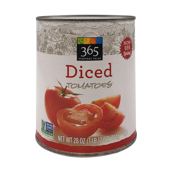 365 everyday value® Diced Tomatoes, 28 oz