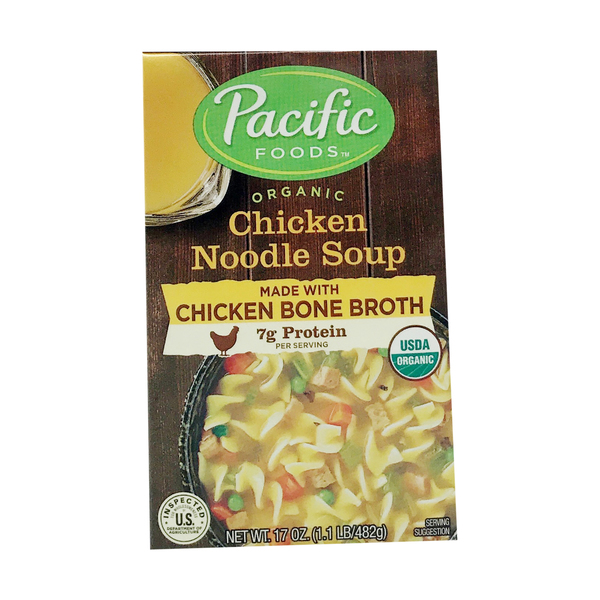 Pacific foods Organic Chicken Noodle Soup, 17 oz