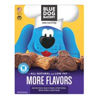 Blue Dog Bakery Healthy Treats for Dogs More Flavors, 20.0 oz