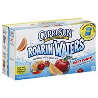 Capri Sun Roarin' Waters Fruit Punch Wave Flavored Water Beverage