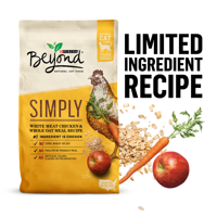 Purina Beyond Natural Limited Ingredient Dry Cat Food, Simply White Meat Chicken & Whole Oat Meal Recipe, 6 lb. Bag
