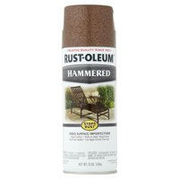 Rust-Oleum Stops Rust Hammered Brown Spray Paint 12 oz. Can