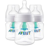 Philips Avent Anti-colic Bottle with AirFree vent 4oz 3pk, SCF400/34
