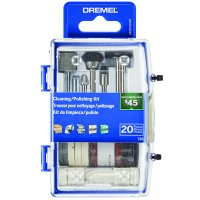 Dremel 726-02 20 PC Cleaning/Polishing Accessory Micro Kit