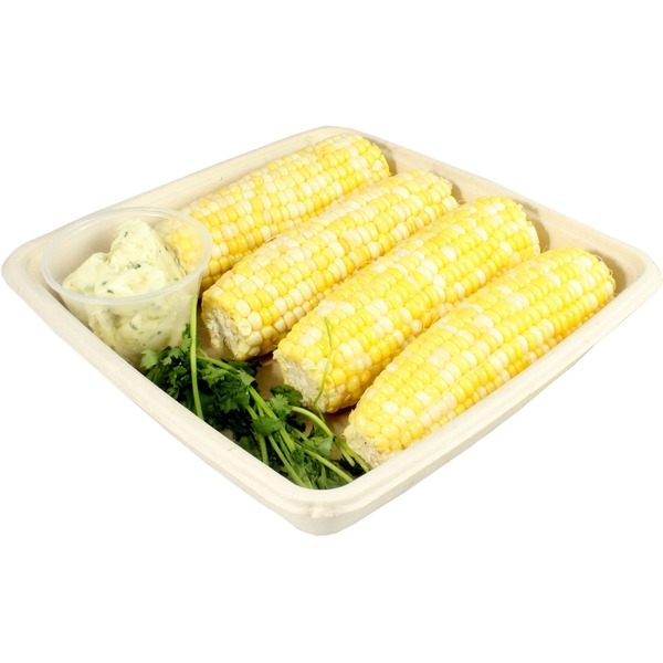 Central Market Prepless Ready to Grill Corn Kit With Cilantro Butter