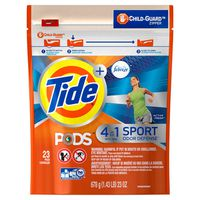 Tide Liquid Laundry Detergent Pacs, Active