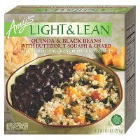 Amy's Light and Lean Frozen Quinoa Black Beans with Butternut Squash and Chard Meal - 8oz
