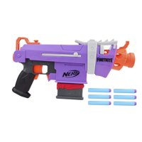 Nerf Fortnite SMG-E Blaster - 6-Dart Clip, 6 Official Nerf Elite Darts
