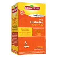 Nature Made Diabetes Health Pack Packets, 60 ct