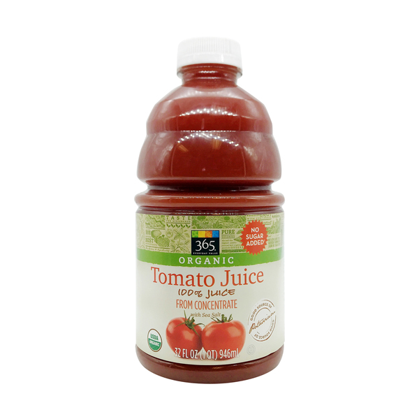 365 everyday value® Organic Tomato Juice, 32 fl oz