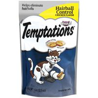 Temptations Hairball Control Chicken Flavor Cat Treats