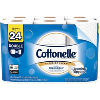 Cottonelle Ultra CleanCare Double Roll Toilet Paper Bath Tissue