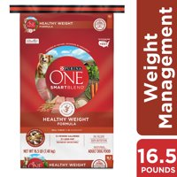 Purina ONE Weight Management, Natural Dry Dog Food, SmartBlend Healthy Weight Formula - 16.5 lb. Bag