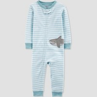 Toddler Boys' Shark Pajama Jumpsuit - little planet organic by carter's Blue