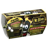 Mt. Olive Kosher Dill Petites Portable Pickle Pak