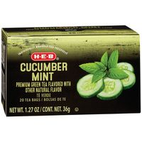 H-E-B Cucumber Mint Green Tea Bags