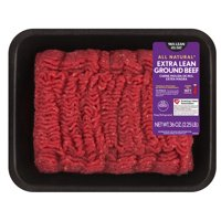 All Natural* 96% Lean/4% Fat Extra Lean Ground Beef Tray, 2.25 lb