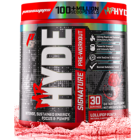Pro Supps Mr. Hyde Signature Series Pre-Workout Powder, Lollipop Punch, 30 Servings