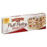 Pepperidge Farm Frozen Bakery Pepperidge Farm Puff Pastry Frozen Sheets Pastry Dough