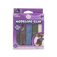 Sculpey EZ Shape Non-Dry Natural Modeling Clay, 1 Each