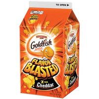 Pepperidge Farm Goldfish Flavor Blasted Xtra Cheddar Crackers, 30 oz. Carton