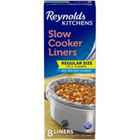 Reynolds Kitchens Premium Slow Cooker Liners, 13 x 21 Inch, 8 Count