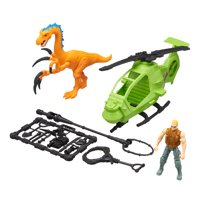 Kid Connection Dinosaur Play Set with Helicopter