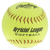 """(4 Pack) Rawlings Recreational & Practice 11"""" Official League Softballs"""